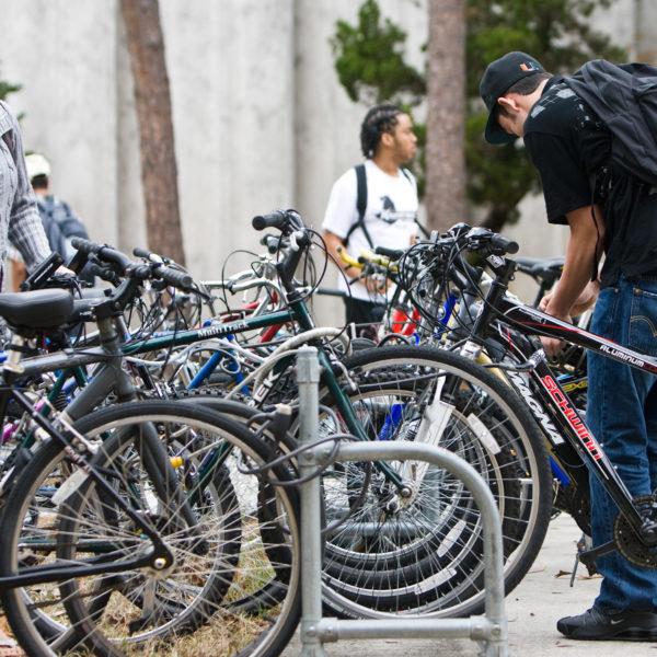 bikes at ucf